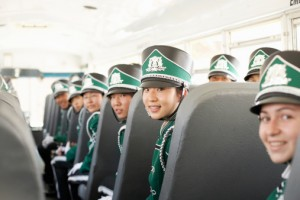 marching band traveling